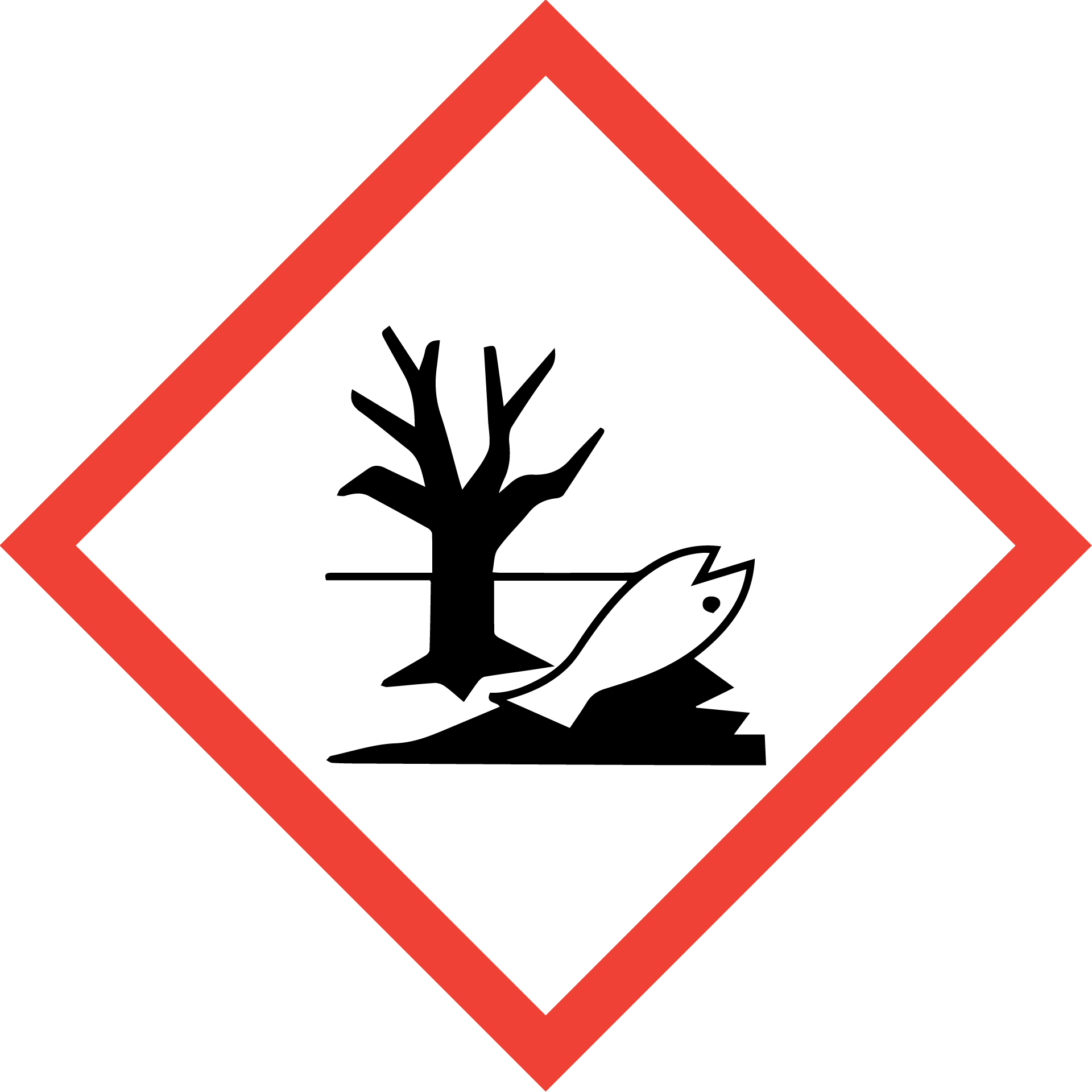 Chemical symbol for harmful to the environment